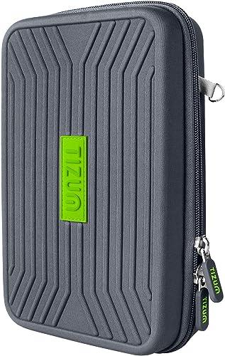 Tizum Portable EVA Universal Electronic Travel Gadgets & Accessories Organizer Multipurpose Pouch, Rugged Travel Frie...