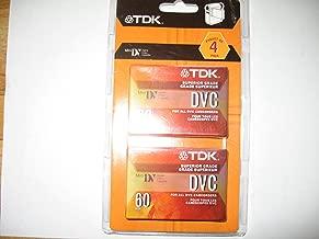 Tdk Digital Video Cassette 60 Min 4 Pk