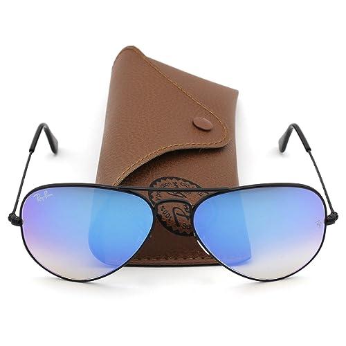 48e1683d298 Ray-Ban RB3025 Aviator Flash Lens Gradient Unisex Sunglasses