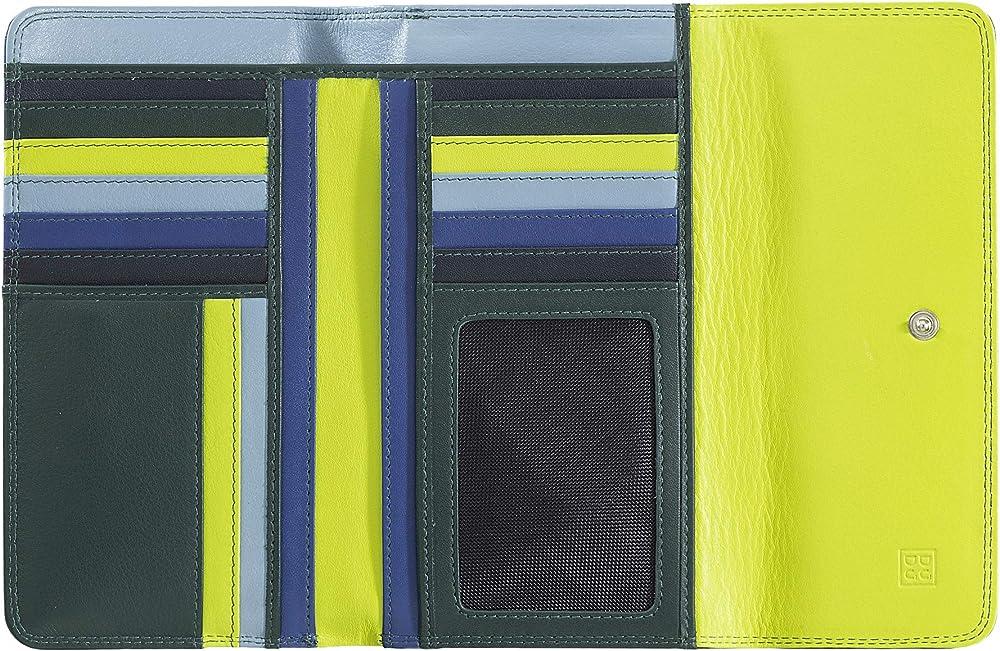 Dudu portafoglio in pelle morbida porta carte di credito con protezione anticlonazione 8031847173994
