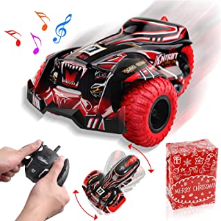 Sponsored Ad - Feeke Remote Control Car, 2020 Newest 2.4Ghz High Speed Terrain RC Racing Cars Toy, 1:14 Scale Three Wheele...