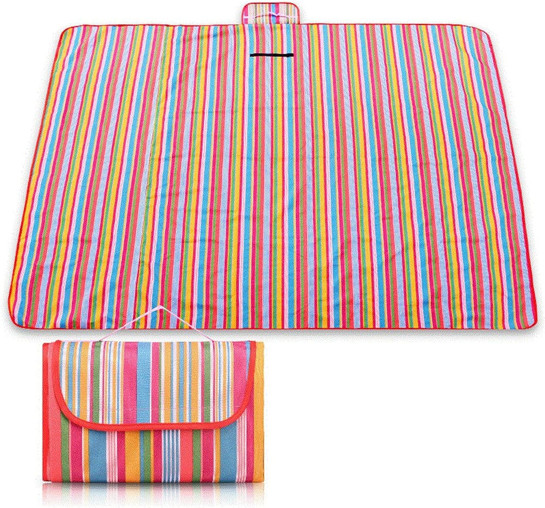 GUJJ Outdoor Picknick Picknick Matte, Portable, super leichte, Faltbare Sitzkissen, Feld mat B072NHMTTS  Sorgfältig ausgewählte Materialien