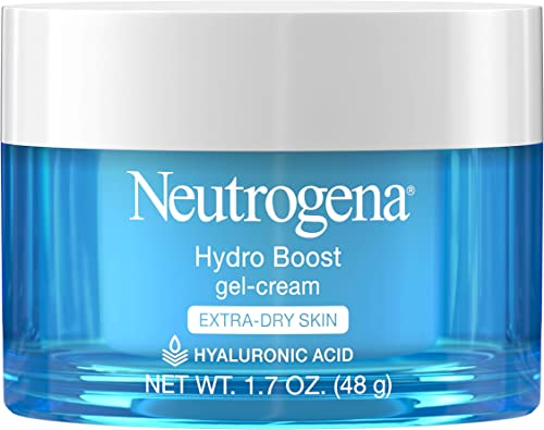 Neutrogena Hydro Boost Hyaluronic Acid Hydrating Gel-Cream Face Moisturizer to Hydrate & Smooth Extra-Dry Skin, Oil-F...