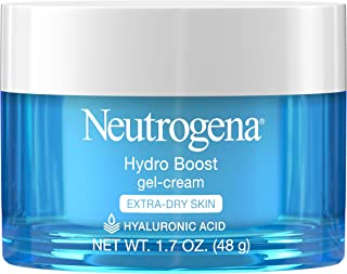 Neutrogena Hydro Boost Hyaluronic Acid Hydrating Gel-Cream Face Moisturizer to Hydrate..