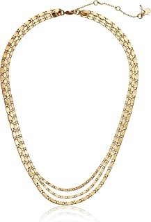 Lucky Brand Classic Chain Layer Necklace, Gold