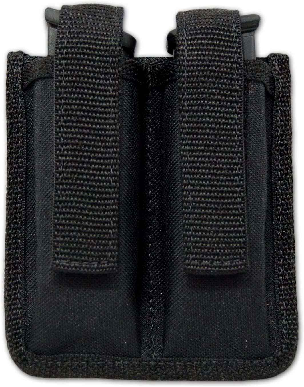 Ranking TOP15 Barsony Latest item New Double Magazine Pouch for 4 Compact 9mm Sub-Compact
