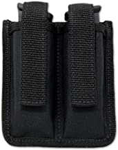 Barsony New Double Magazine Pouch for Full Size 9mm 40 45