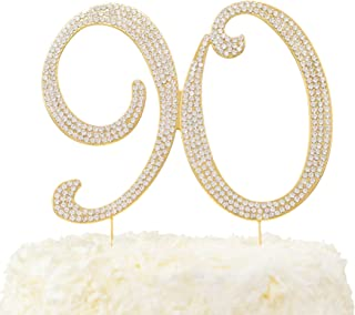 Best 90th cake topper Reviews