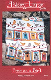 Free As A Bird Quilt Pattern - 60in x 75in. Approximate Finished Size