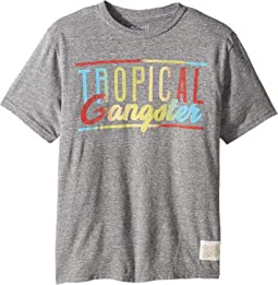 Vintage Tri-Blend Tropical Gangster Tee (Big Kids)