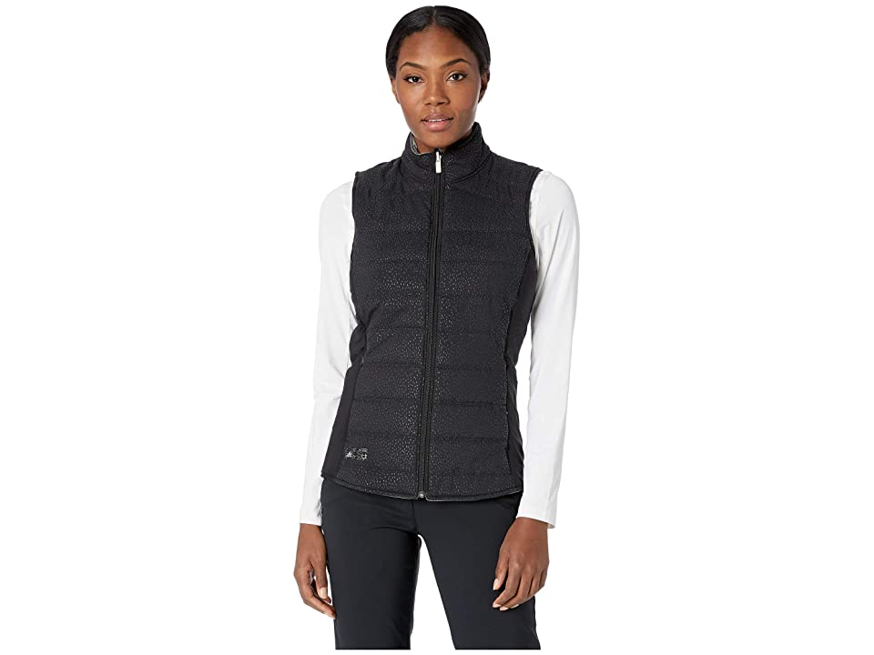 adidas Golf Reversible Quilted Vest (Black/Grey) Women