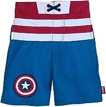 Marvel Captain America Swim Trunks for Kids Blue