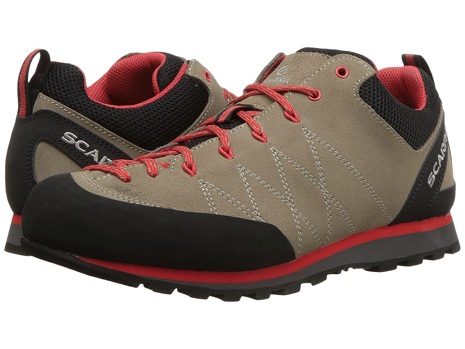 Scarpa CruxAtmospheric grades have affordable shoes
