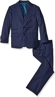 a.x.n.y Boys' 3 Piece Textured Suit Set