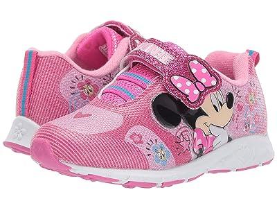 Josmo Kids Minnie Mesh Look Sneaker (Toddler/Little Kid) (Fuchsia) Girl