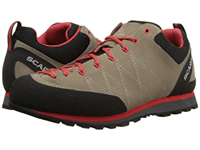 Scarpa Crux (Camel/Poppy Red) Women