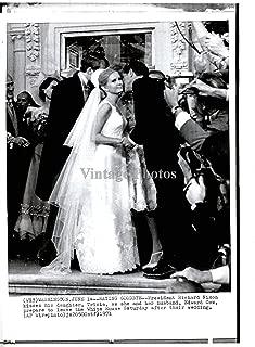 1971 Wire Photo Politics Richard Nixon Tricia Edward Cox Wa White Hosue 8X10