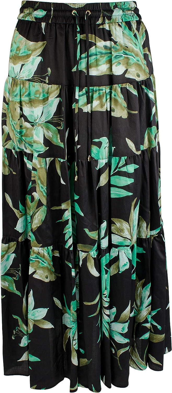 Lauren Ralph Lauren Women's Petite Tropical Peasant Skirt