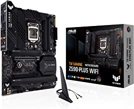 ASUS TUF Gaming Z590-Plus WiFi 6 LGA 1200 (Intel 11th/10th Gen) ATX Gaming Motherboard (PCIe 4.0, 3xM.2/NVMe SSD, 14+2 Pow...