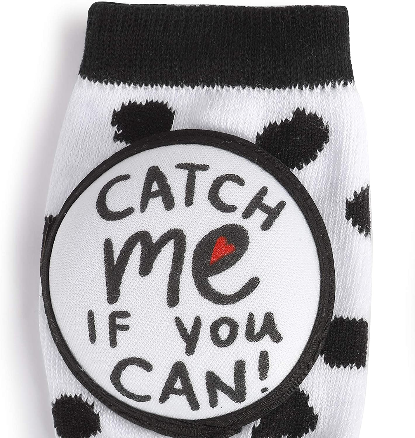 Catch Me If You Can Dalmatian Spotted One Size Fits Most Cotton Infant Kneezies