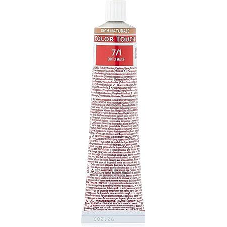 Wella Colour Touch Rich Naturals 60 7/1 - Tinte de pelo, 60 ml, 1 unidad