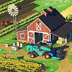 BUILD the farm of your dreams with plenty of buildings and decorations JOIN the community and meet farmers worldwide HARVEST your favorite fruits, vegetables, and flowers PRODUCE organic foods and farm fresh goods MANAGE realistic production cycles T...