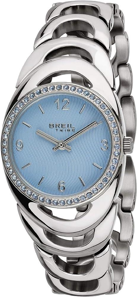 Breil orologio per donna in acciaio inossidabile ghiera arricchita da cristalli EW0393