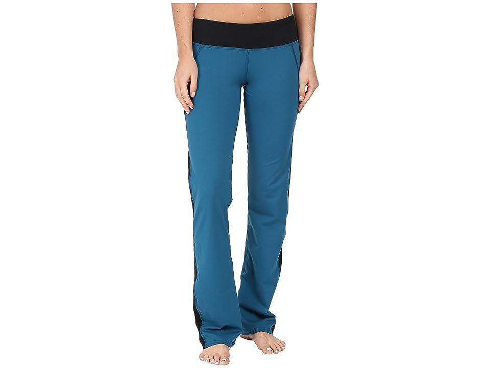 Hot Chillys MTF Flex Flare Pants (Lagoon/Black) Women