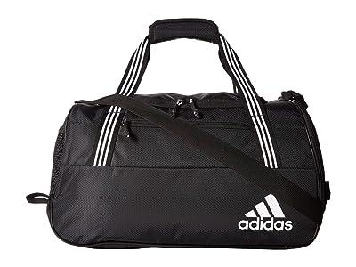 adidas Squad IV Duffel (Black/White) Bags