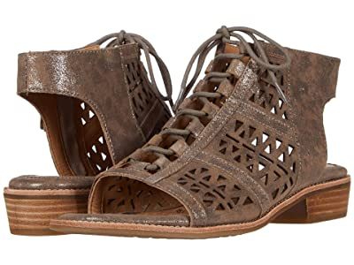 Sofft Nora (Smoke Distressed Foil Suede) Women