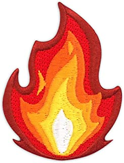 Winks For Days It`s Fire Embroidered Iron-On Patch