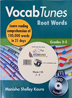 VocabTunes Root Words 3-5 CD included