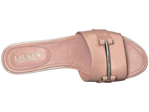 Ralph Patent Pink LAUREN Leather Davan Dusty Lauren dX8Xnxg