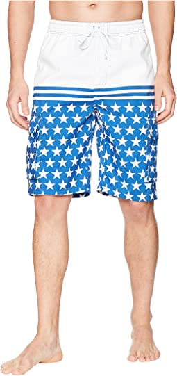 "11"" Patriot Cargo Swim Shorts"