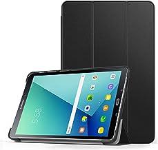 MoKo Compatible con Funda para Samsung Galaxy Tab A 10.1 with S Pen (SM-P580/SM-P585 S Pen Version) - Ultra Slim Lightweight de Soporte Protectora Plegable Smart Cover (Auto Sueño/Estela) - Negro