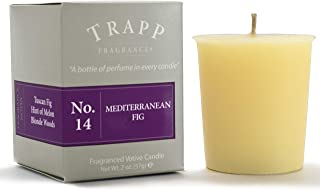 Trapp Signature Home Collection - No. 14 Mediterranean Fig Votive Scented Candle 2 Ounce, Pack of 4