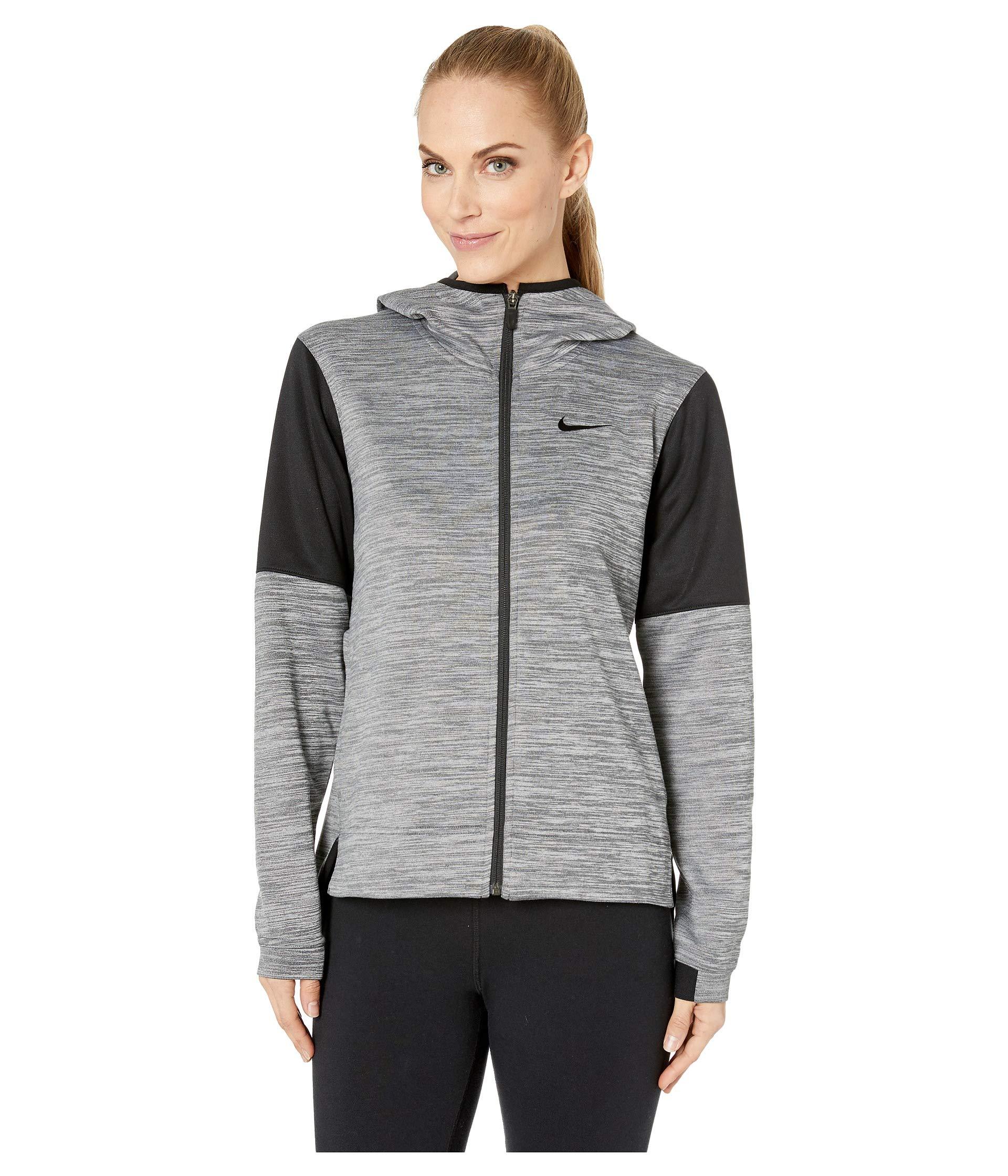 black Full Grey black Spotlight Heather Nike Hoodie Zip z8FnxRq