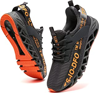 Mens Sport Running Sneakers Breathable Trail Athletic Shoes