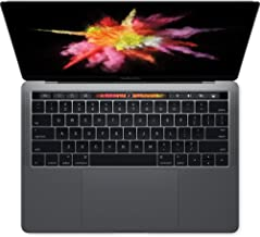 Apple 13in MacBook Pro, Retina, Touch Bar, 3.1GHz Intel Core i5 Dual Core, 8GB RAM, 256GB SSD, Space Gray, MPXV2LL/A (Newest Version) (Renewed)