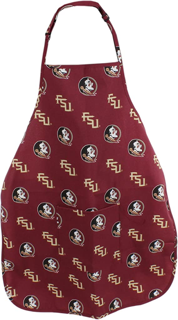 College Covers Florida State Seminoles Tailgating or Grilling Apron with 9