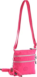 Kipling Alvar - Bolso de Hombro, Color Rose, Talla Taille Unique