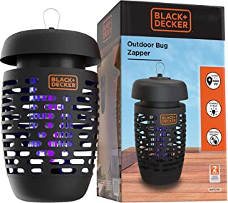 BLACK+DECKER Bug Zapper Electric Insect Control For Flies, Gnats, Mosquitoes & Others..