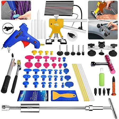 US Paintless Dent Removal PDR Tool Puller Lifter Slide Hammer Car Repair Kit Box