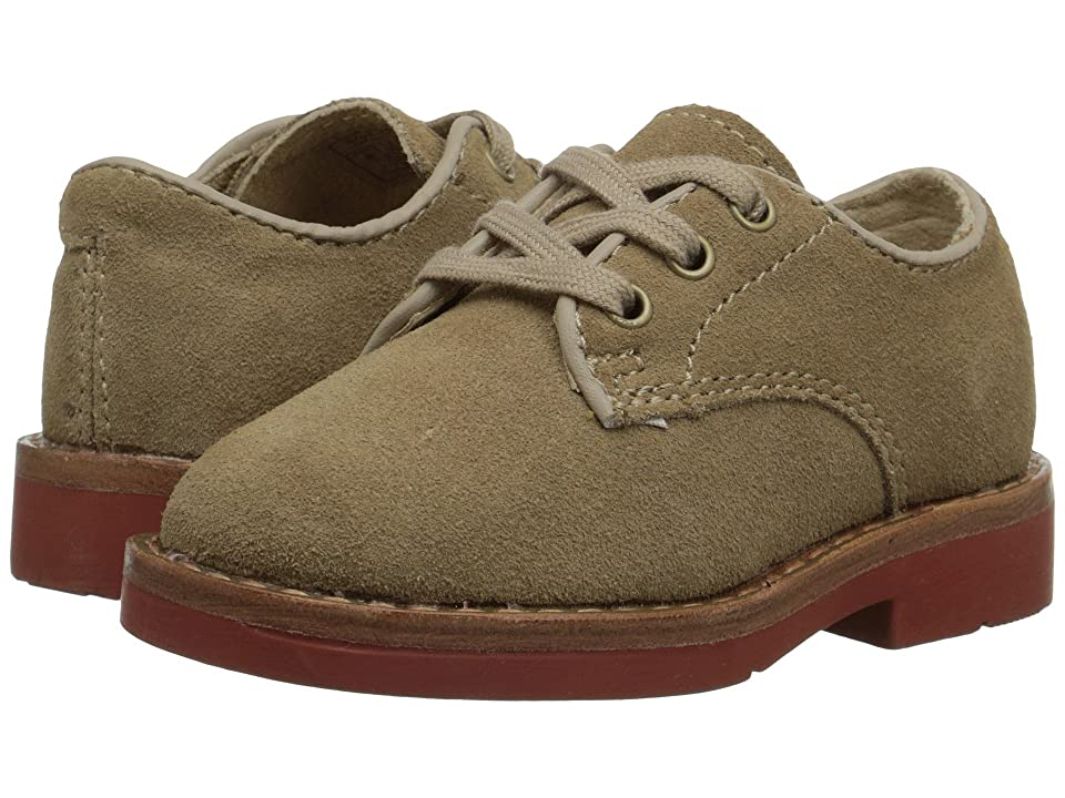 Polo Ralph Lauren Kids Barton Oxford (Infant/Toddler) (Dirty Buck Suede) Boys Shoes