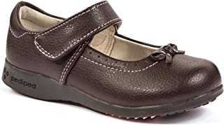 brown mary janes girls