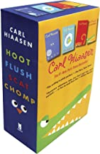 Hiaasen 4-Book Trade Paperback Box Set: Chomp; Flush; Hoot; Scat