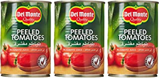 Del Monte Peeled Canned Tomatoes , 400 gms - (Pack of 3)