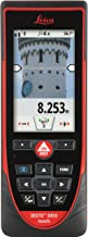 Leica DISTO D810 Touch 660ft Laser Distance Measurer w/Bluetooth and 1mm Accuracy, Red/Black
