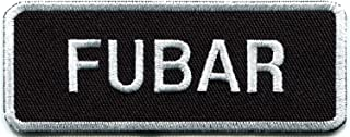FUBAR Military Humor Biker Funny Slogan Retro Joke Rockabilly Embroidered Applique Iron-on Patch New