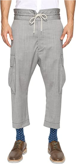 Basic Wool Samurai Trousers